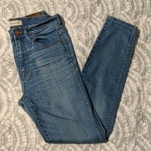 Madewell Skinny Skinny Hide Rise Jeans